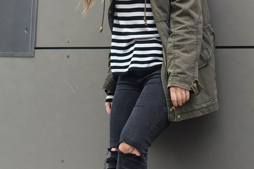 gelöcherte jeans