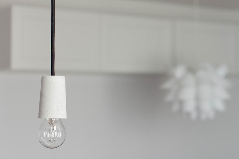 DIY: Selbstgemachte Lampe aus Beton - fashiontamtam.com