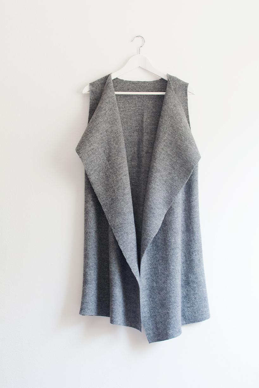 DIY Tutorial: So machst du dir eine ärmellose Weste - fashiontamtam.com