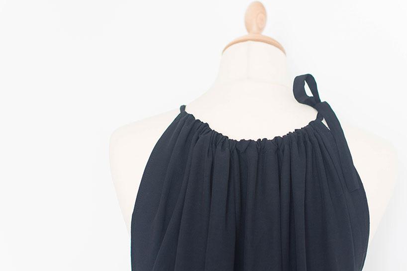 Fashiontamtam-schwarzesMaxikleid-Neckholder-langesKleid-Maternity-818-9