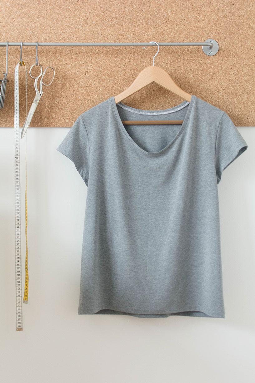 Gut gemocht T-Shirt nähen - Anleitung und einfaches Schnittmuster GC92