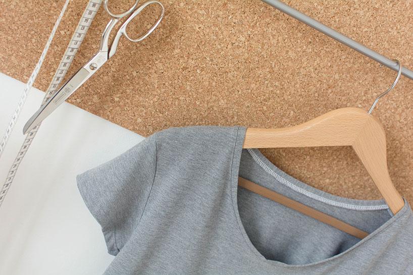 Sehr T-Shirt nähen - Anleitung und einfaches Schnittmuster PF79
