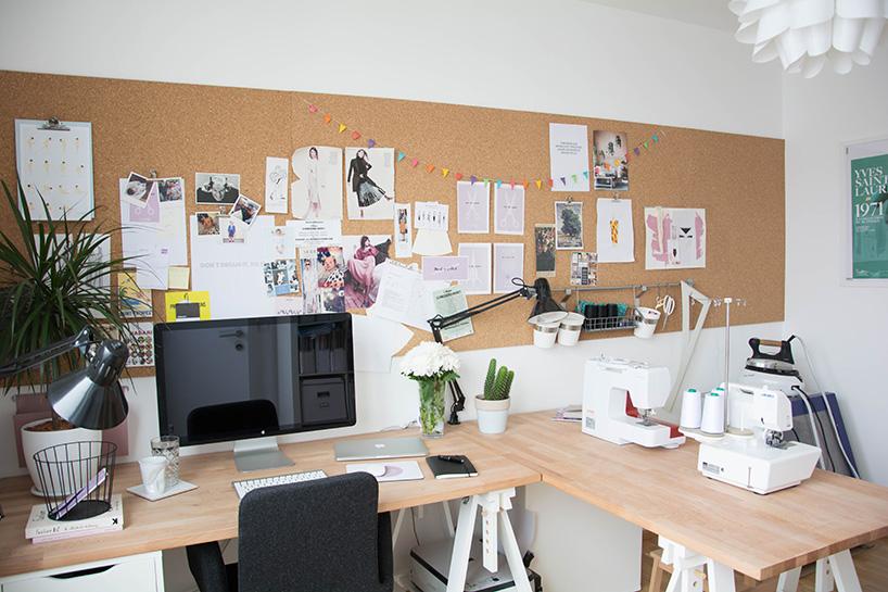 roomtour: mein näh- und arbeitszimmer - fashiontamtam, Esszimmer dekoo
