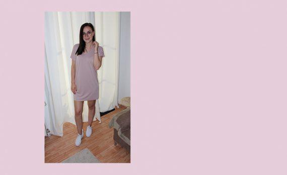 Schnittmuster Damen Kleid #tee Probenähen