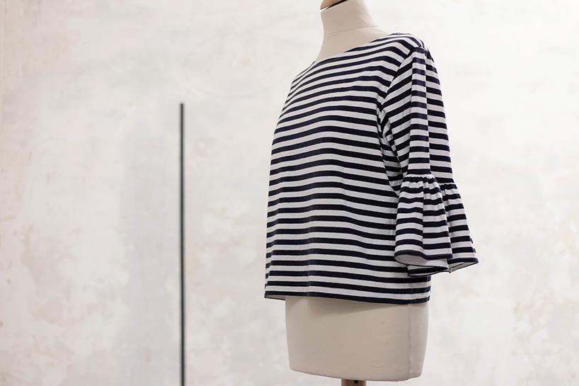 DIY: T-Shirt mit Rüschenärmel aufpeppen - fashiontamtam.com