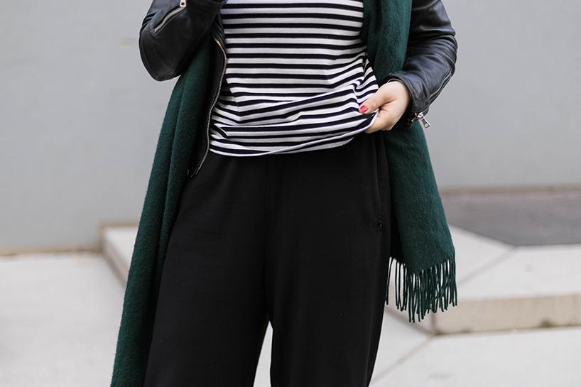 Schnittmuster Damen Langarmshirt #longswag Tragefoto