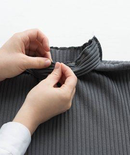 Schnittmuster Damen Rollkragen Pullover #turtle nähen