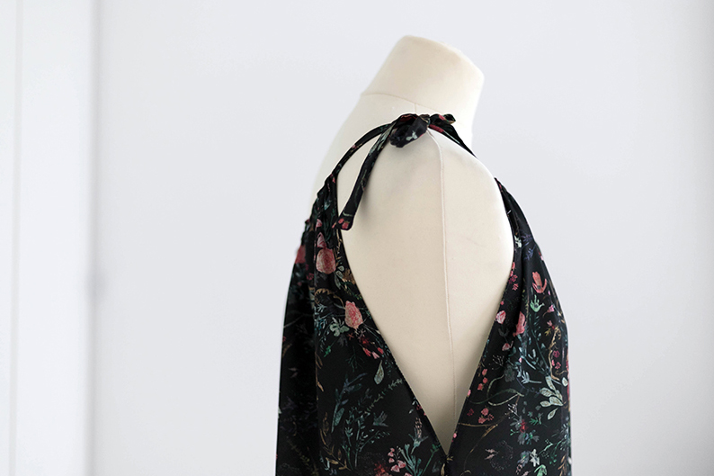 Kleid ohne Schnittmuster nähen