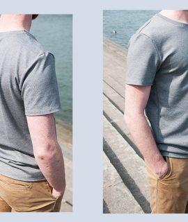 Schnittmuster Herren T-Shirt #menswag Probenähen