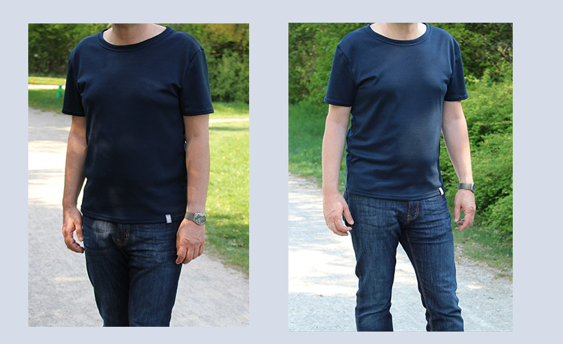 Schnittmuster Herren T-Shirt