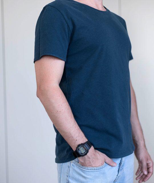 Schnittmuster Herren T-Shirt #menswag Tragefoto