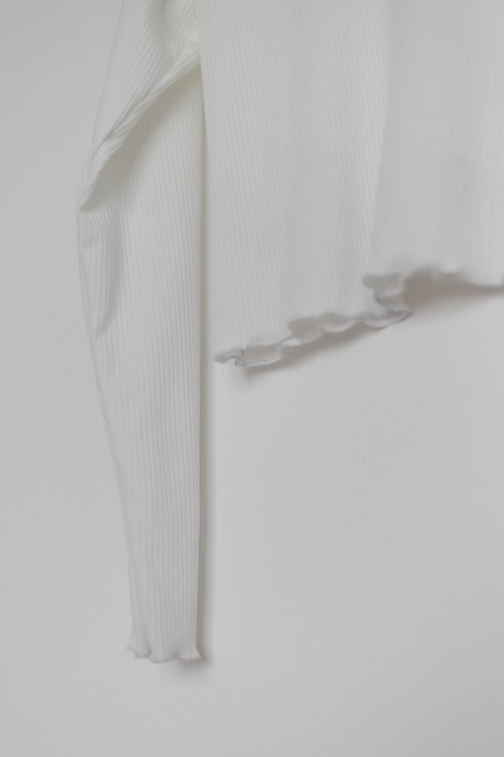 Schnittmuster Damen Rollkragenpullover #turtle mit Rollsaum Tragefoto