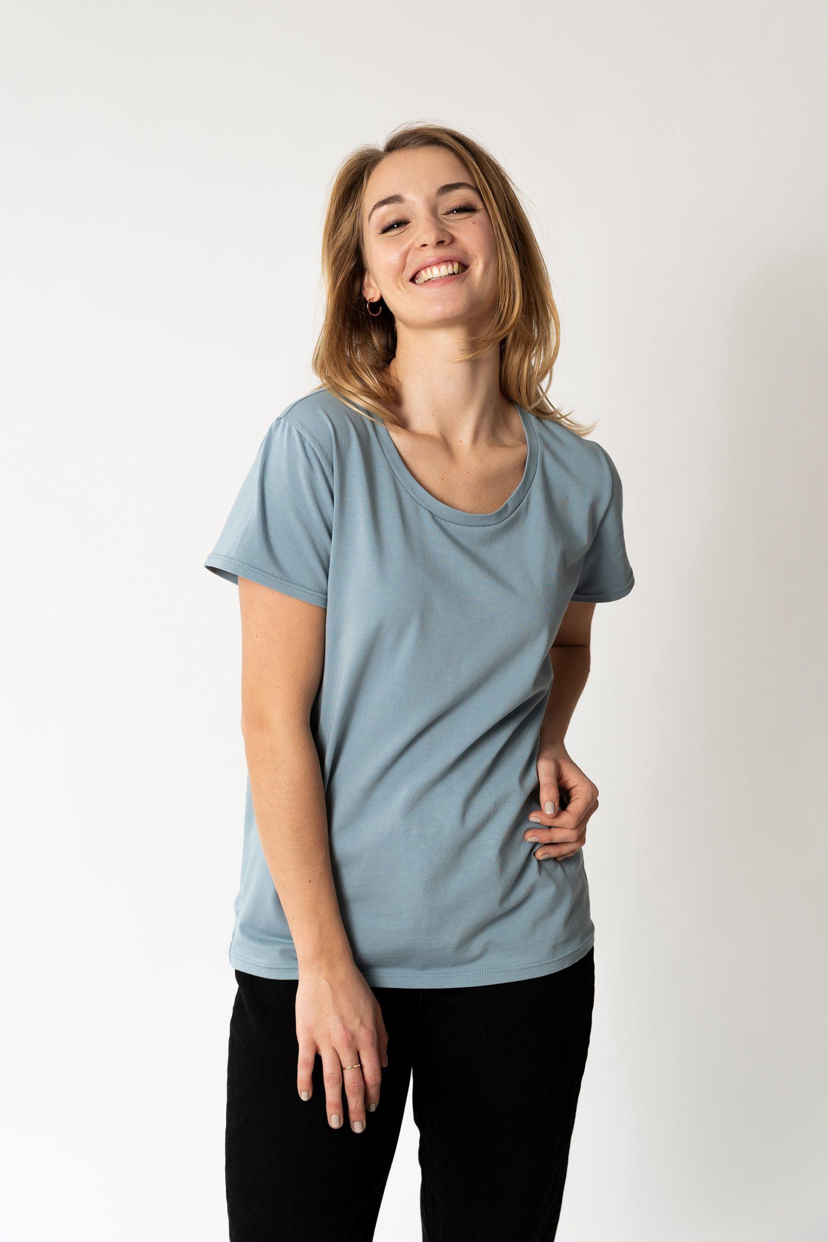 Schnittmuster T-Shirt #swag Tragefoto Model